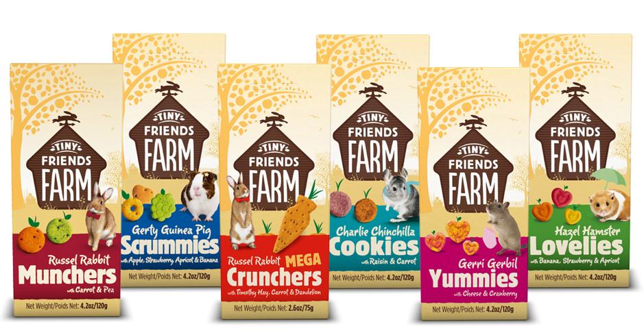Tiny Friends Farm Snacks